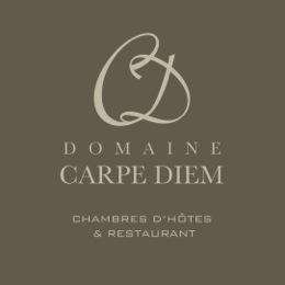 CARPE DIEM logo_taupe_bg