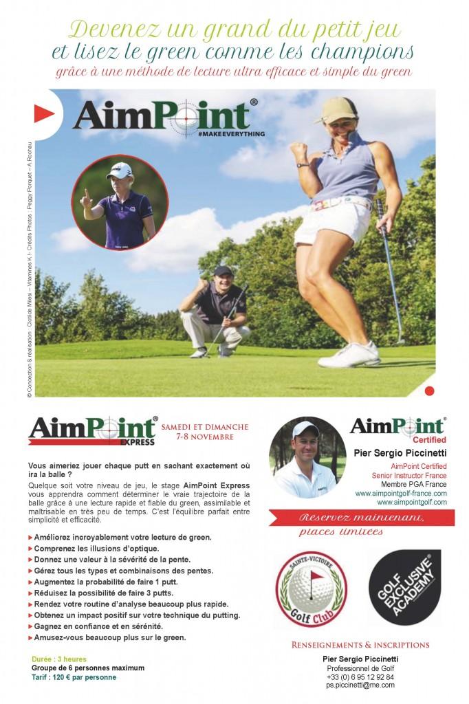 Affiche AimPoint Express - Golf Sainte Victoire